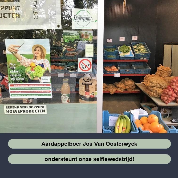 Jos Van Oosterwyck aardappelboer