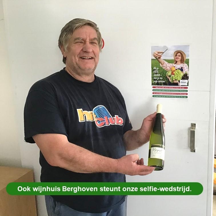Louis Moons _ Selfie-actie Wijngaard Berghoven