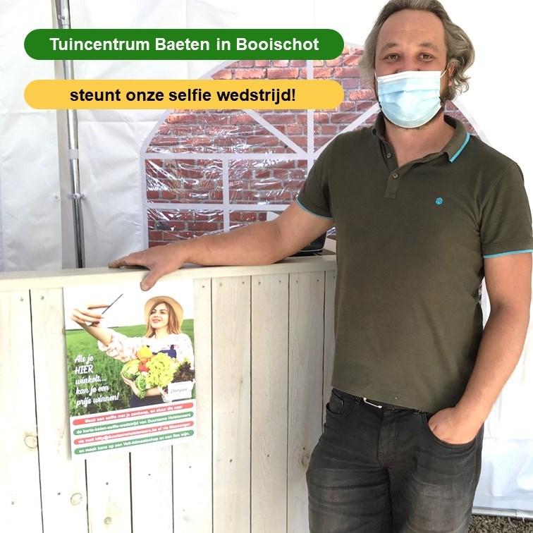 Tuincentrum Baeten doet mee met selfie-actie