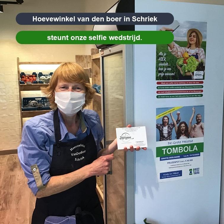 Van Den Boer selfie-actie