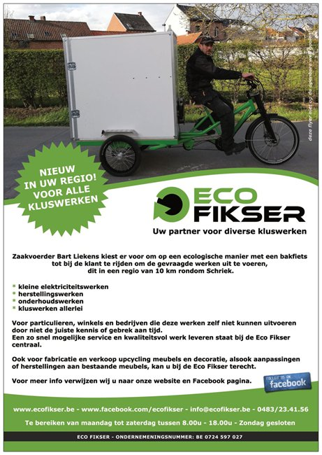 flyer ecofikser - Bart Liekens