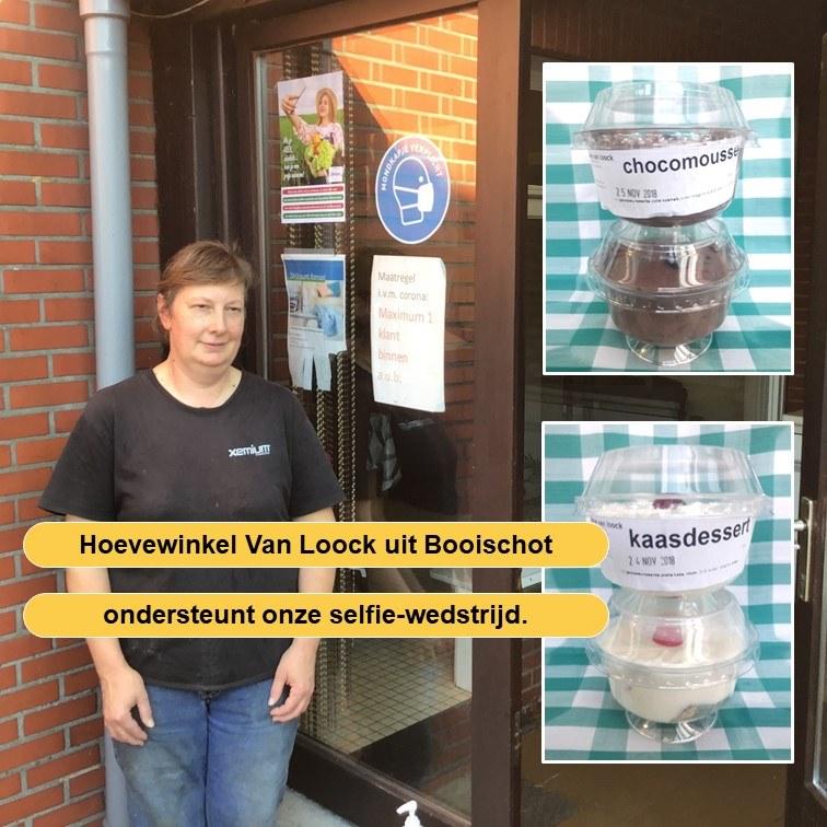 Hoevewinkel Van Loock ondersteunt onze selfie-actie