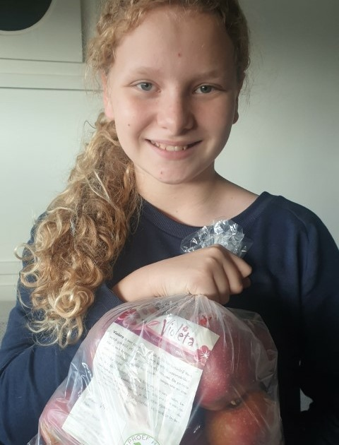 Inge Hechtermans kocht appels bij Vaes