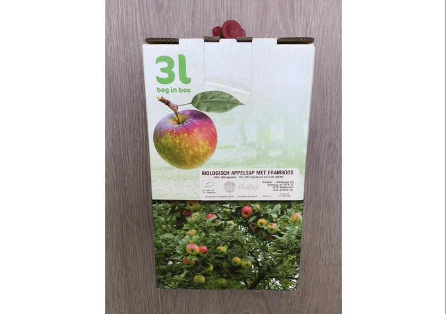 Plukhof fruitsap 3 liter