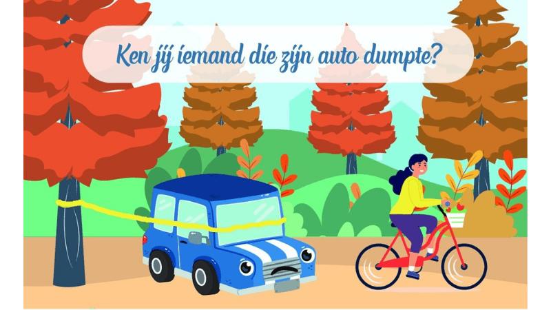 Ken jij iemand die zijn auto dumpte?