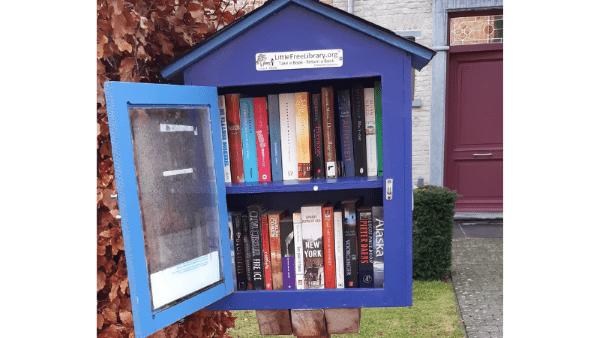 Duurzame Heistenaars boekenruilkastje Itegem