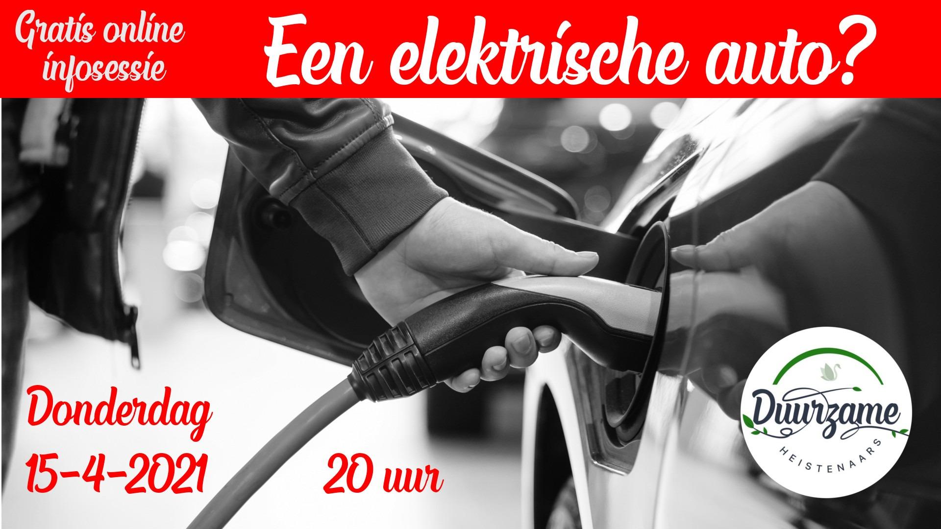 Infosessie elektrische auto