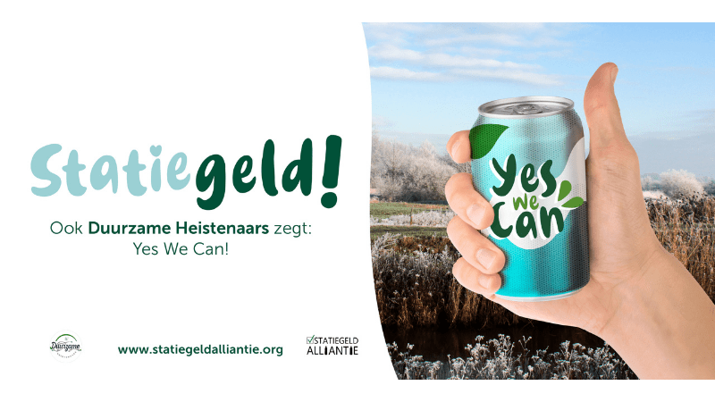 Statiegeld, Yes We Can!-campagne