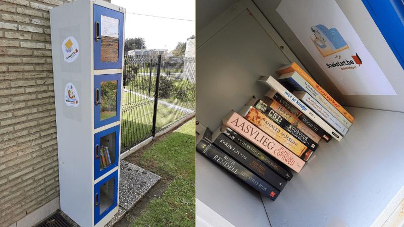Boekenkast aan het Huis van het Kind
