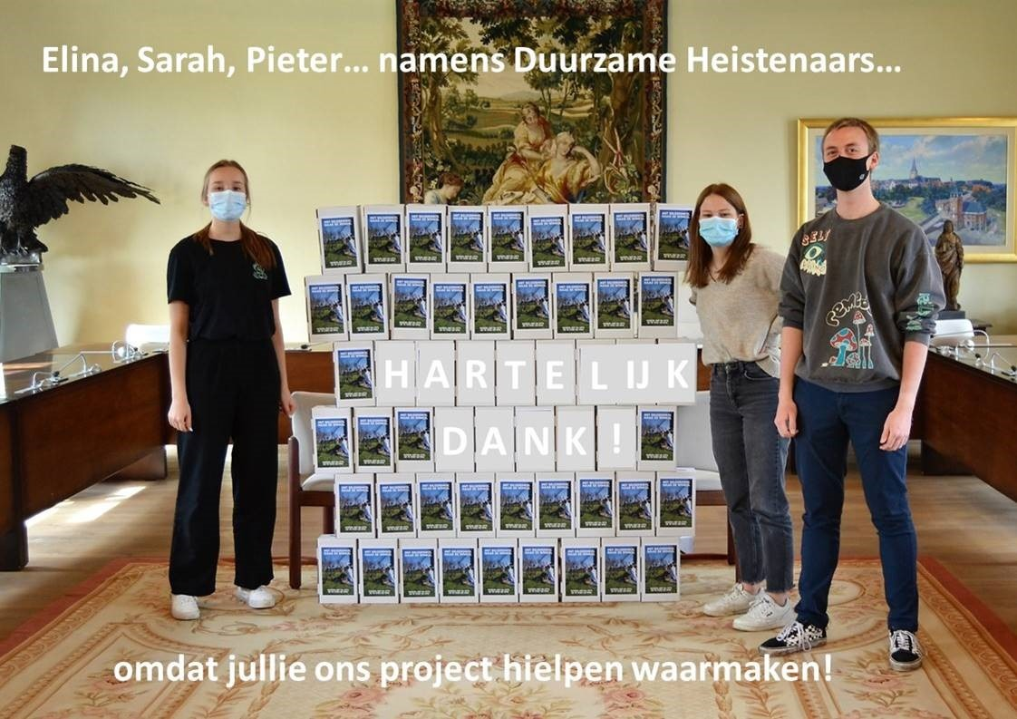 Waardebons klaargemaakt voor de winnaars van belgerinkel