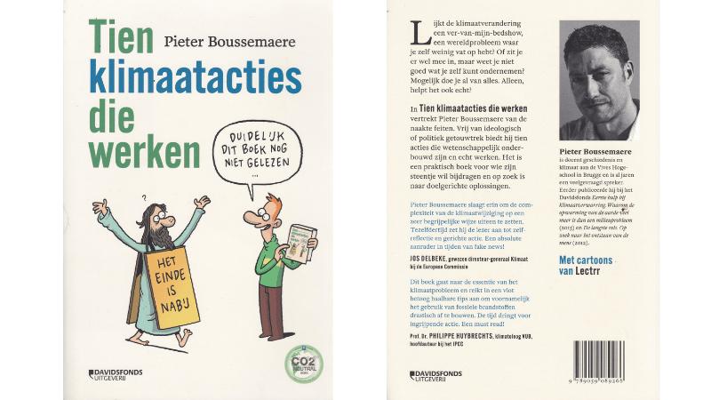 Boek Pieter Boussemaere